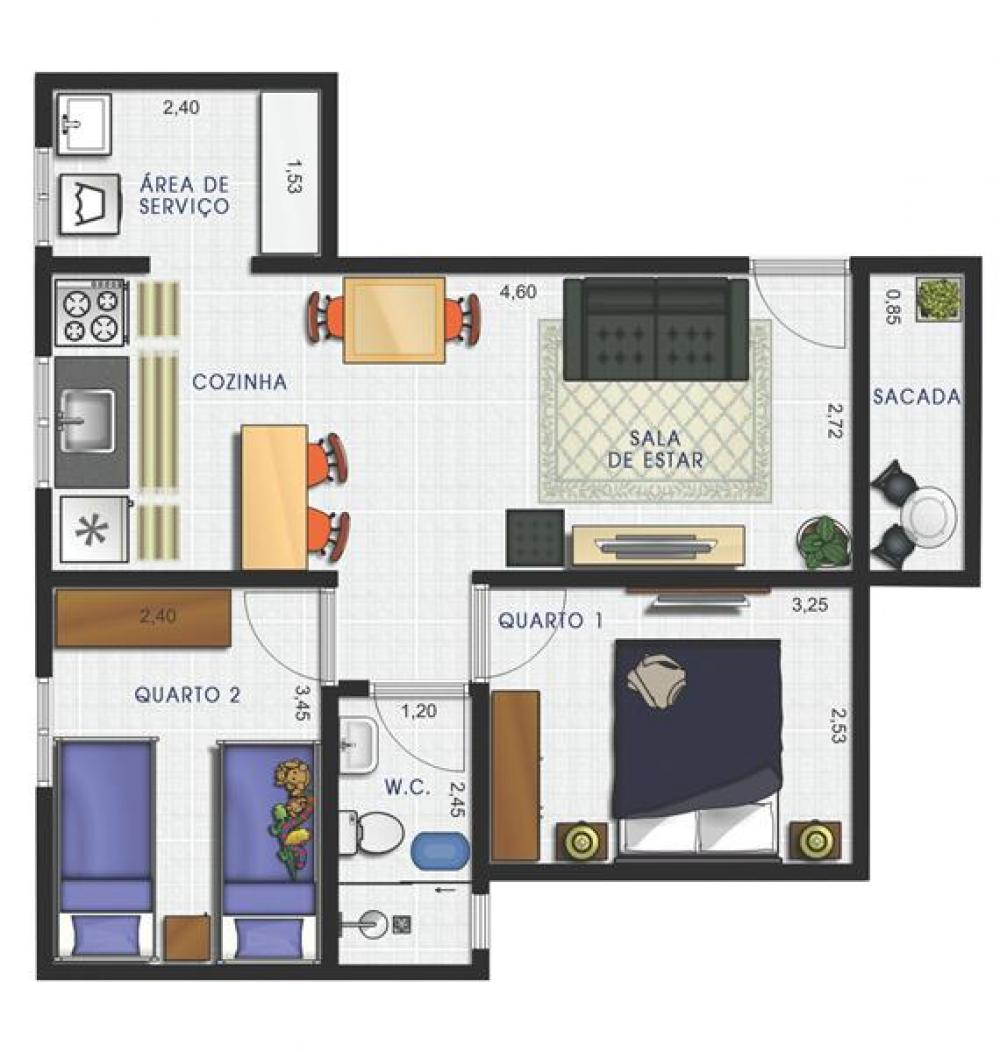 Comprar Apartamento / Padrão em São José do Rio Preto apenas R$ 168.000,00 - Foto 10