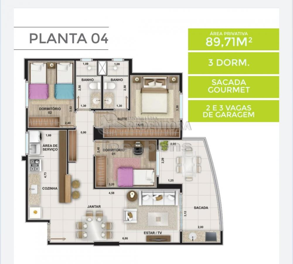 Comprar Apartamento / Padrão em São José do Rio Preto apenas R$ 699.000,00 - Foto 12