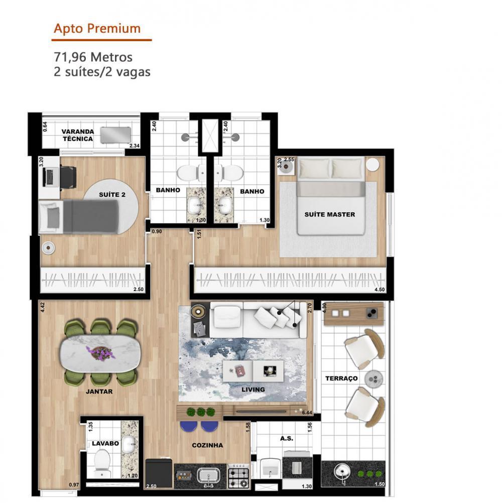 Alugar Apartamento / Studio em SAO JOSE DO RIO PRETO apenas R$ 1.500,00 - Foto 18