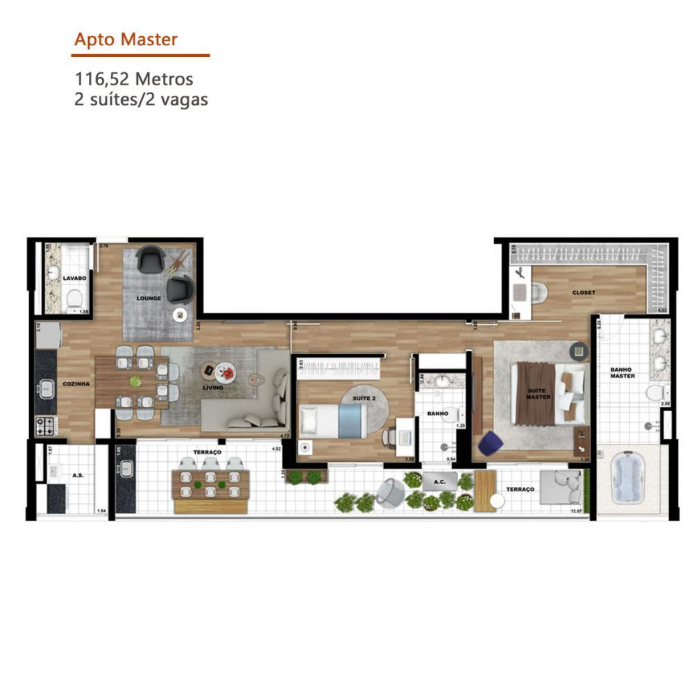 Alugar Apartamento / Studio em SAO JOSE DO RIO PRETO apenas R$ 1.500,00 - Foto 37