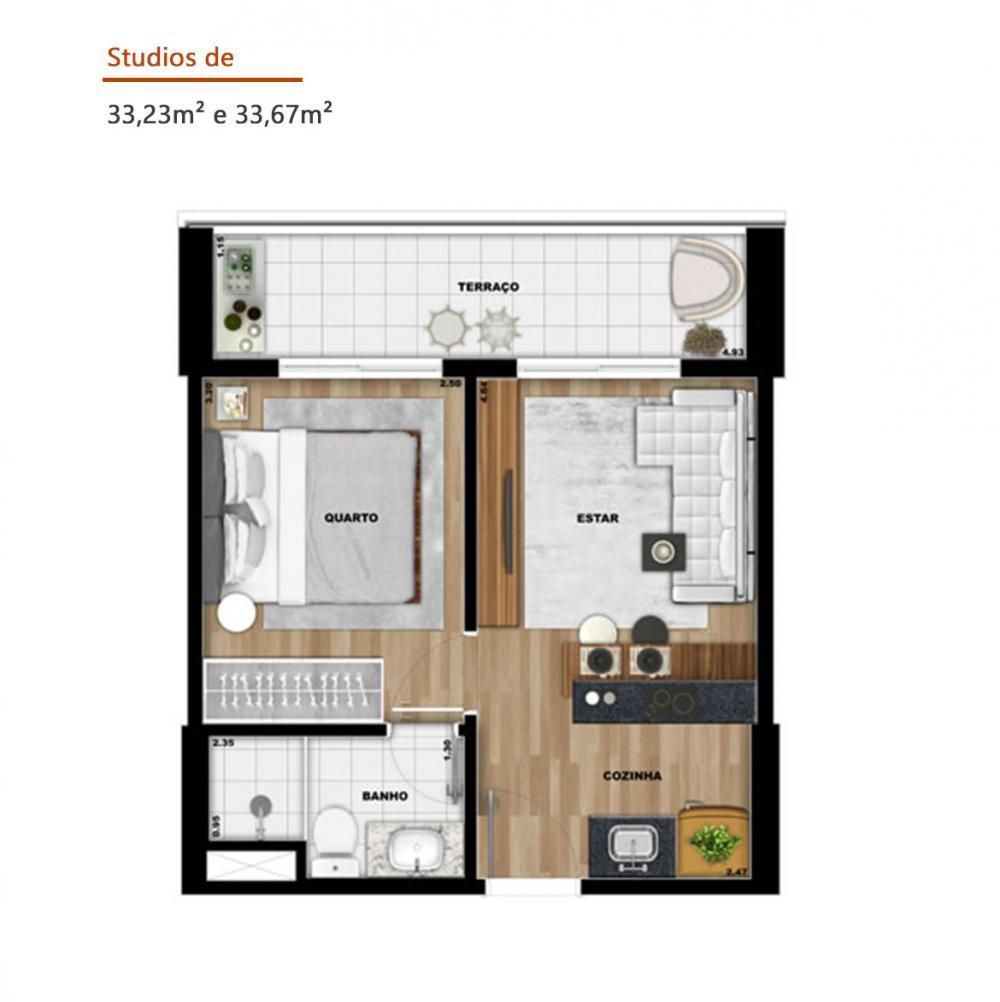 Alugar Apartamento / Studio em SAO JOSE DO RIO PRETO apenas R$ 1.500,00 - Foto 42