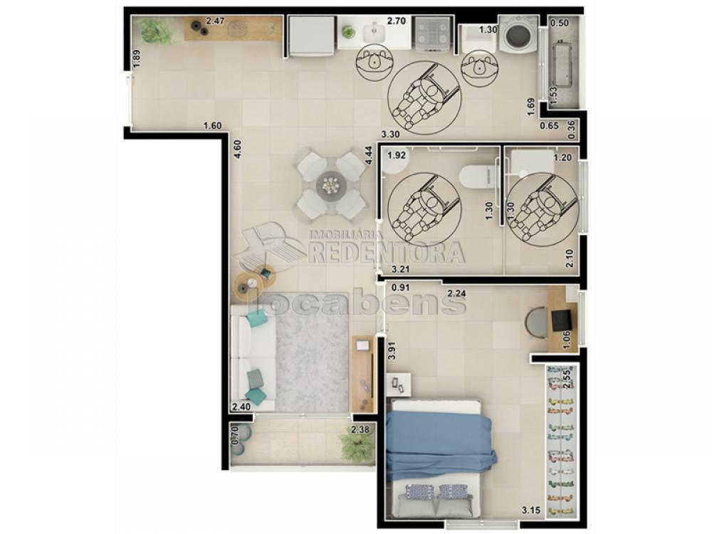 Comprar Apartamento / Padrão em São José do Rio Preto apenas R$ 280.000,00 - Foto 33