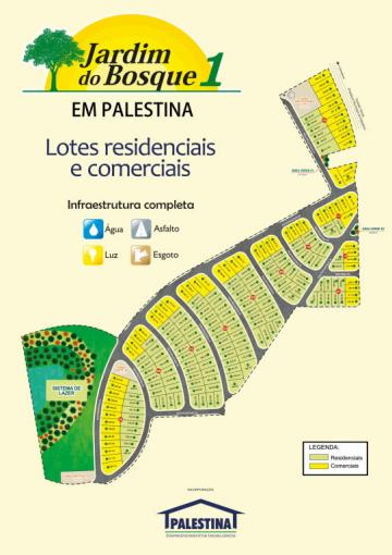 Palestina Sao Francisco Terreno Venda R$54.000,00  Area do terreno 211.60m2