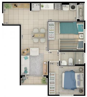 Comprar Apartamento / Padrão em São José do Rio Preto apenas R$ 280.000,00 - Foto 20
